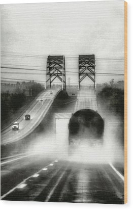 On The Road Again Wood Print by Robert  FERD Frank