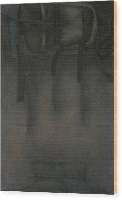 On The Road Wood Print by Oni Kerrtu
