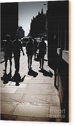 Wood Print featuring the photograph On The Street by Craig B