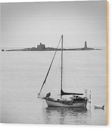 On The Water Wood Print by Mike McGlothlen