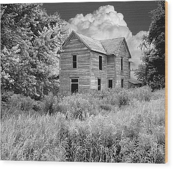 Once Called Home Wood Print