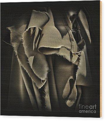 Once In A Torn Dream Wood Print by Walt Foegelle