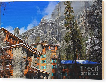One Fine Winter Morning3 Wood Print by Theresa Ramos-DuVon