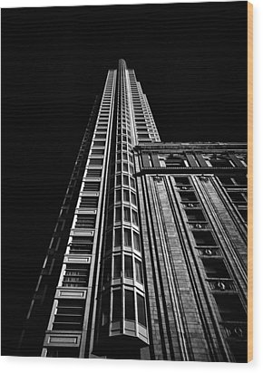 One King Street West Toronto Canada Wood Print