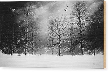 One Night In November Wood Print by Bob Orsillo