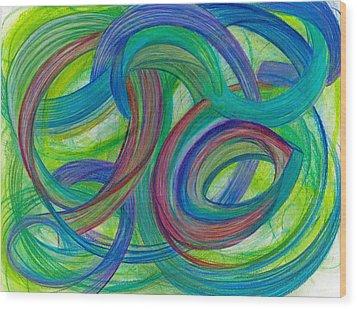 One Stupendous Whole-horizontal Wood Print by Kelly K H B