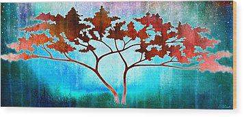 Oneness Wood Print