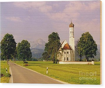 Onion Dome Church Wood Print by John Malone