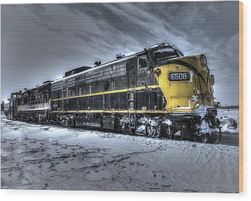 Ontario Southland Railways Wood Print