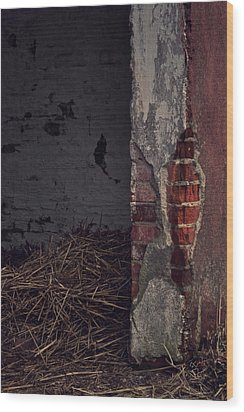 Open Door Wood Print by Odd Jeppesen