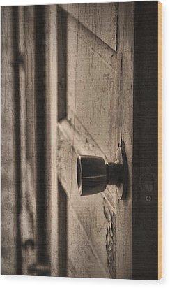 Open Doors Wood Print by Dan Sproul