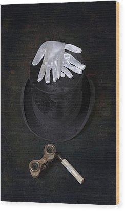 Opera Wood Print by Joana Kruse