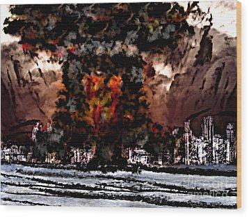 Oppenheimer's Legacy Wood Print by Thomas OGrady