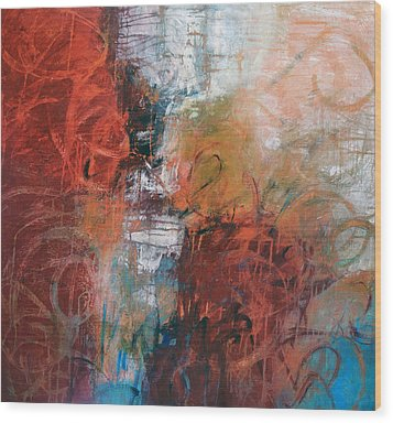 Opposing Forces Wood Print by Filomena Booth