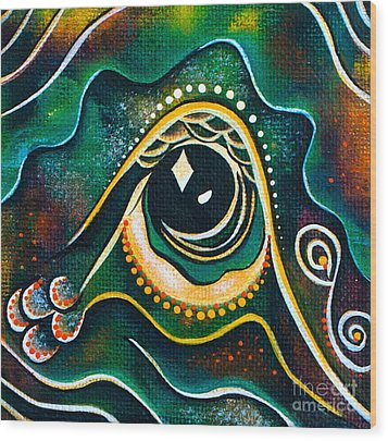 Optimist Spirit Eye Wood Print