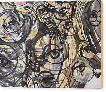 Optometry Wood Print by Nancy Kane Chapman