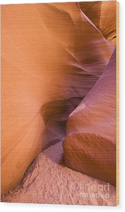 Orange Canyon Wood Print by Bryan Keil