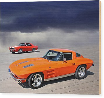 Orange Crush Wood Print by Christopher McKenzie