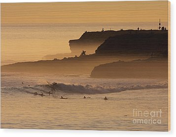 Wood Print featuring the photograph Orange Glow by Paul Topp