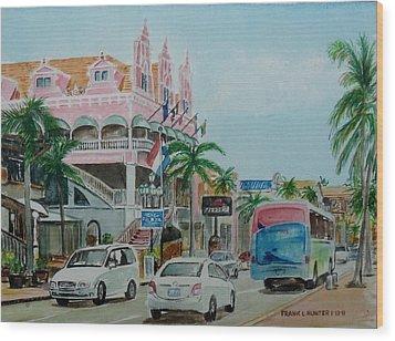 Oranjestad Aruba Wood Print by Frank Hunter