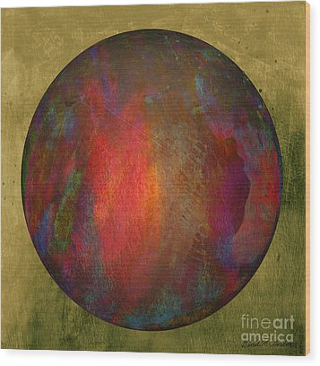 Orb Number Two Wood Print by David Gordon