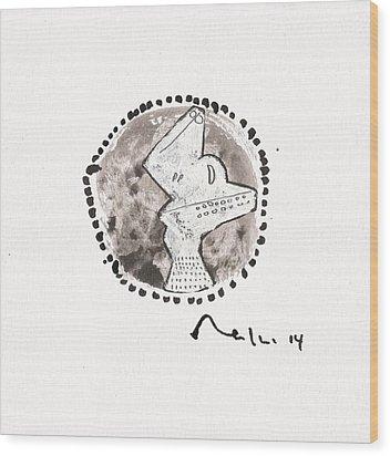Orbis No. 13  Wood Print by Mark M  Mellon