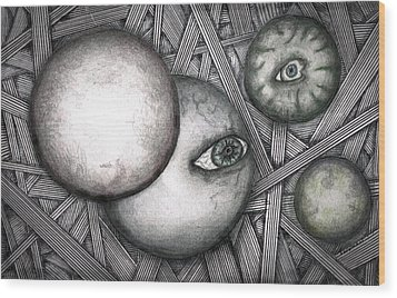 Orbs 2013 Wood Print