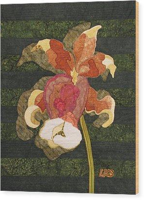 Orchids #1 Wood Print by Lynda K Boardman