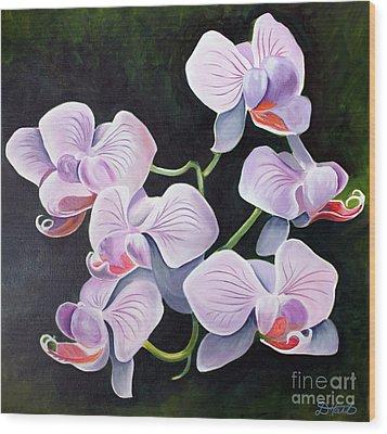 Orchids II Wood Print