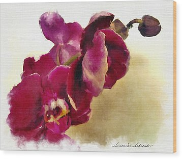 Orchids No. 5 Wood Print