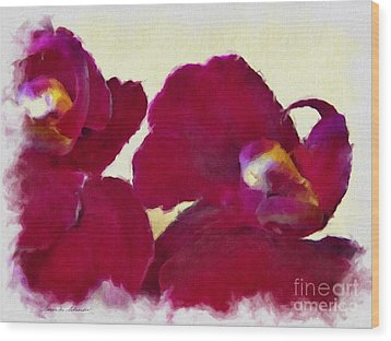 Orchids No. 4 Wood Print
