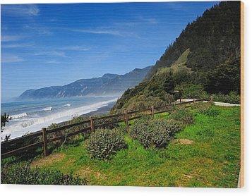 Oregon Coast Wood Print