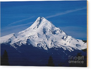 Oregon - Mt. Hood Wood Print