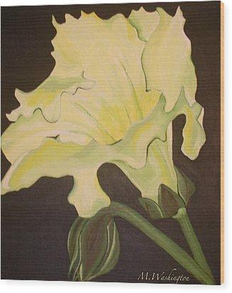 Organic 4 Wood Print by Megan Washington