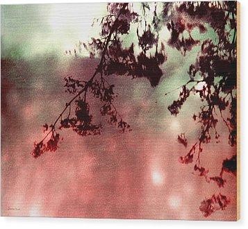 Organic Impressions Wood Print
