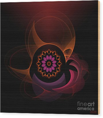 Wood Print featuring the digital art Oriental Surprise by Hanza Turgul