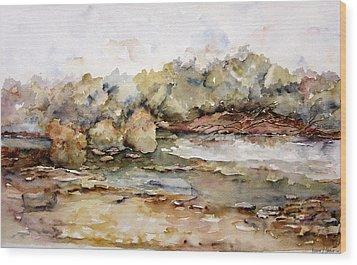 Orillas II Wood Print