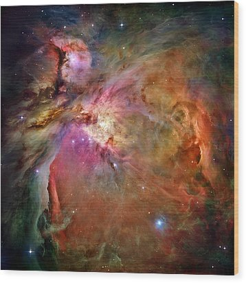 Orion Nebula Wood Print by Benjamin Yeager