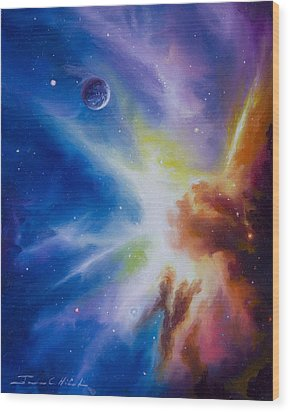 Orion Nebula Wood Print by James Christopher Hill