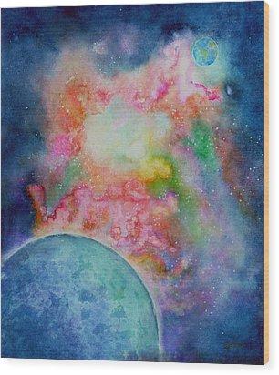 Orion Nebula Wood Print