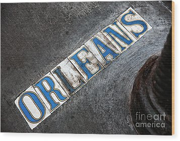 Orleans Wood Print by John Rizzuto