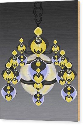 Ornamental Illumination Wood Print