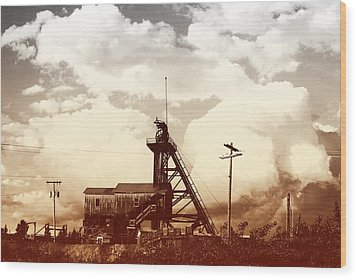 Wood Print featuring the photograph Orphan Girl Mine  by Kevin Bone