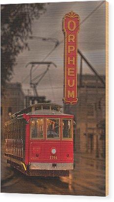 Orpheum Theater Memphis Wood Print
