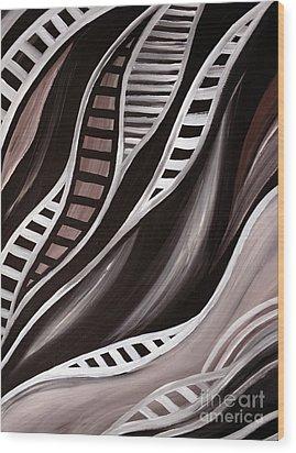 Oryx Wood Print by Eva-Maria Becker