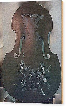 Oscar Peterson Trio Wood Print