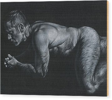 Oscuro 15 Wood Print by Chris Lopez