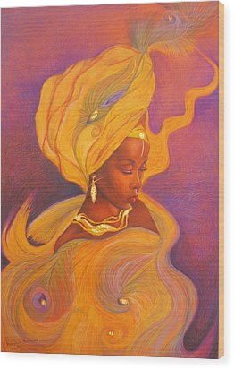 Oshun Goddess Wood Print