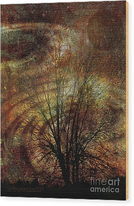 Otherworld Wood Print by Mimulux patricia no No