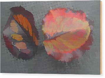 Our Maker's Palette Wood Print by Barbara McDevitt